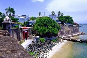 Gate of the City, Old San Juan, Puerto Rico by George Oze