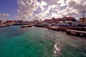 Georgetown Harbor Early Morning Cayman Islands by George Oze