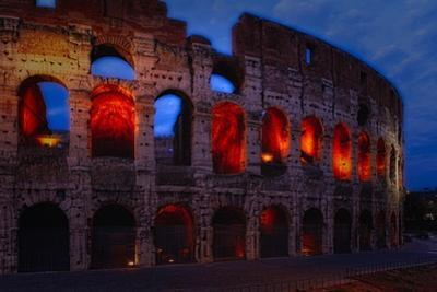 Glowing Arches by George Oze