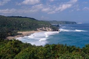 Guajataca Beach, Isabela, Puerto Rico by George Oze