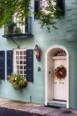 Houses of Charleston I, South Carolina by George Oze