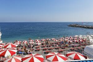 Italian Beach Life, Amalfi Coast by George Oze