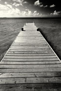 Jetty Perspective, Grand Cayman Island by George Oze