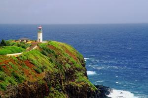 Kilauea Lighthouse, Kauai, Hawaii by George Oze