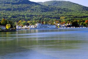 Lake George Autumn, New York by George Oze