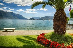 Lake View From Menaggio by George Oze