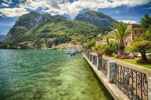 Lakeshore Scenic, Menaggio, Italy by George Oze
