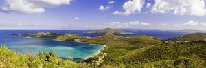 Magens Bay Panorama, St Thomas, US Virgin Islands by George Oze