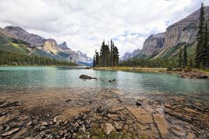 Maligne Lake Scenic, Alberta, Canada by George Oze