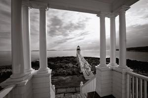 Marshall Point Light, Maine by George Oze