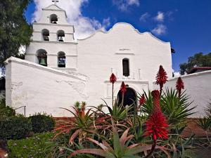 Mission Basilica San Diego De Alcala by George Oze