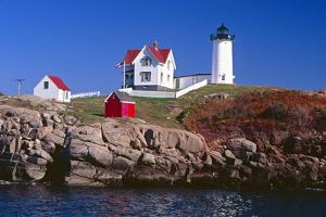 Nubble Lighthouse York Maine by George Oze