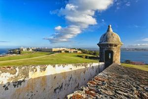 Old San Juan Scenic View, Puerto Rico by George Oze