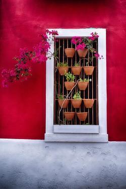 Old San Juan Window, Puerto Rico by George Oze