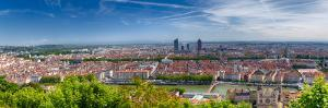 Panoramic View of Lyon from the Fourvière Hill by George Oze