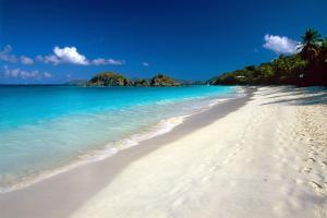 Perfect Caribbean Beach, Saint John, USVI by George Oze