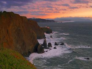Point Bonita Ligthouse, San Francisco Bay by George Oze
