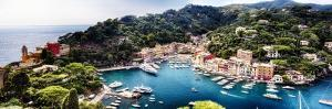 Portofino Panorama, Liguria, Italy by George Oze