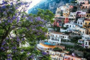 Positano Summer View by George Oze