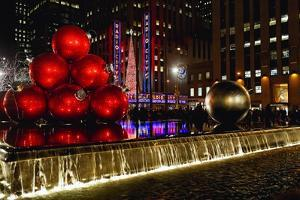 Radio City Music Hall Holiday Scenic, New York by George Oze
