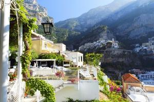 Relaxing Positano Morning, Italy by George Oze