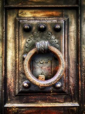 Renaissance Door Knocker in Florence by George Oze