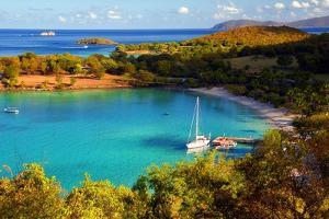 Salomon Bay, Saint John, US Virgin Islands by George Oze