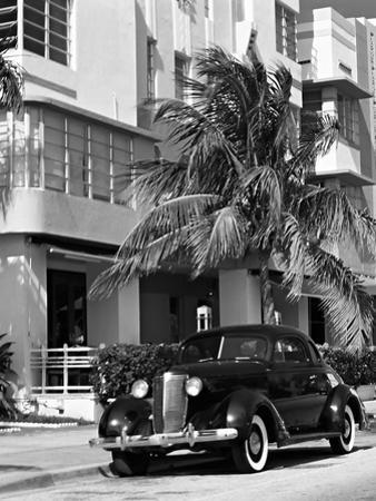 South Beach Art Deco, Miami, Florida by George Oze
