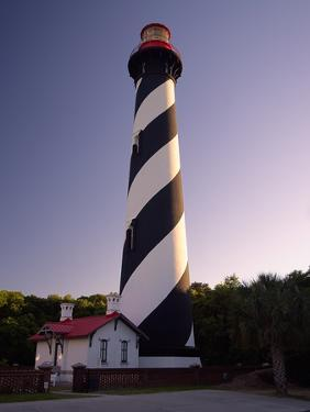 St Augustine Lighthouse Florida by George Oze