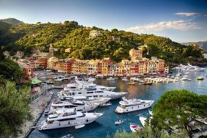 Summer Afternoon in Portofino, Italy by George Oze