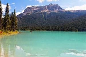 Summer Day at Emerald Lake, Canada by George Oze