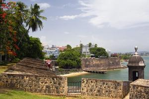 The Walled City Old San Juan Puerto Rico by George Oze