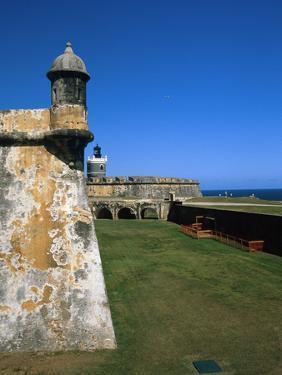 Towers of El Morro Fort Old San Juan Puerto Rico by George Oze