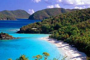 Trunk Bay Beach, St John, US Virgin Islands by George Oze