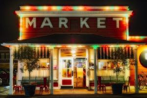 Yountville Market, Napa Valley, California by George Oze