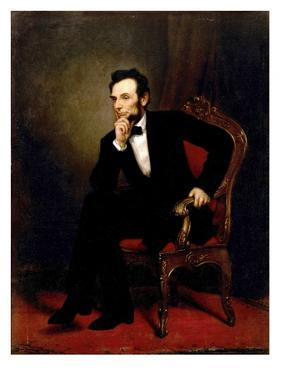Abraham Lincoln by George P.A. Healy