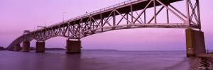 George P. Coleman Bridge over York River, Yorktown, Virginia, USA