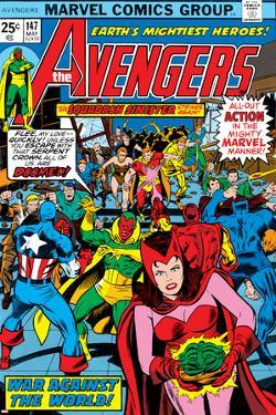 Avengers No.147 Cover: Scarlet Witch by George Perez