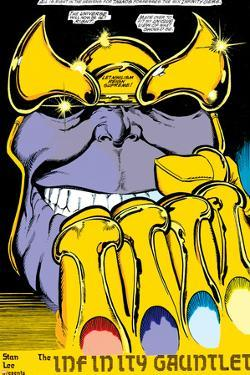 Infinity Gauntlet No.2 Headshot: Thanos by George Perez
