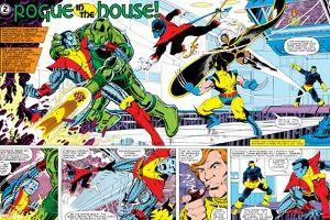 X-Men Annual No.3 Group: Colossus, Nightcrawler, Wolverine, Storm, Cyclops and X-Men by George Perez