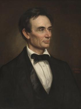 Abraham Lincoln, 1860 by George Peter Alexander Healy