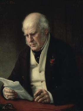 Charles Fox, 1869 by George Peter Alexander Healy