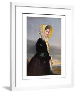 Euphemia White Van Rensselaer, 1842 by George Peter Alexander Healy