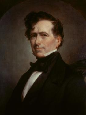 Franklin Pierce, (President 1853-57) by George Peter Alexander Healy