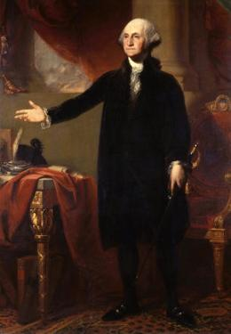 George Washington, 1732-99, 1st President of the United States by George Peter Alexander Healy