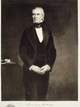 James K. Polk by George Peter Alexander Healy