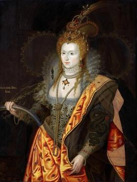 Portrait of Elizabeth I of England, in Ballet Costume as Iris by George Peter Alexander Healy