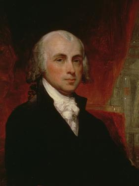 Portrait of James Madison (1751-1836) by George Peter Alexander Healy