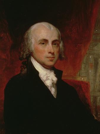 Portrait of James Madison (1751-1836)