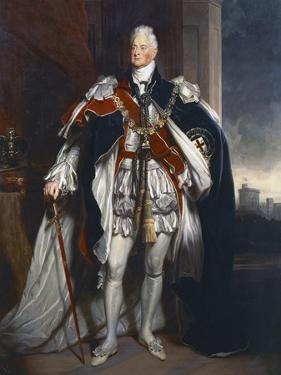 Portrait of King William IV, Copy after Sir Martin Archer Shee, 1844 by George Peter Alexander Healy